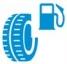étiquette pneu - consommation de carburant