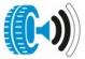 étiquette pneu - niveau sonore