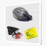 ¿Qué artículos son obligatorios para la bicicleta?