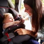 Viajar con un bebé en el coche